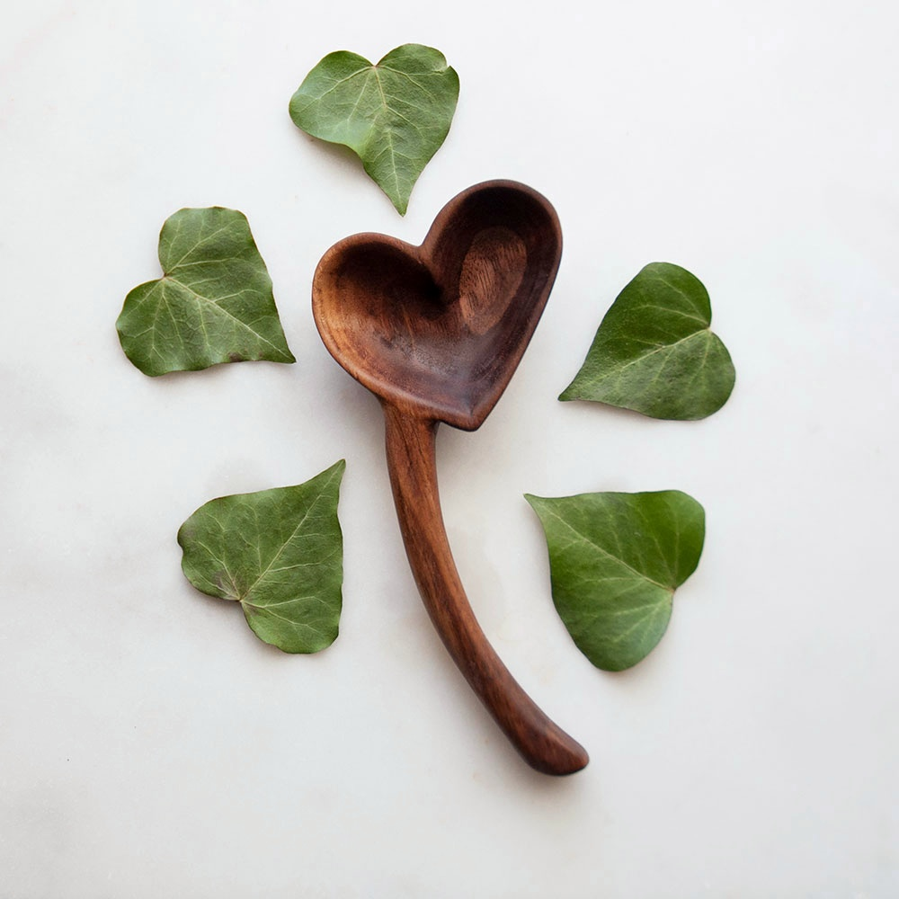 Handmade Heart Spoon - Penn & Knife
